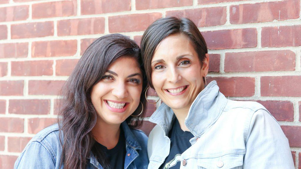 Co-owners Doreen Godfrey (D) & Linda Cicero (L) a Hip Hop & Breakdancing studio in Darien, CT.
