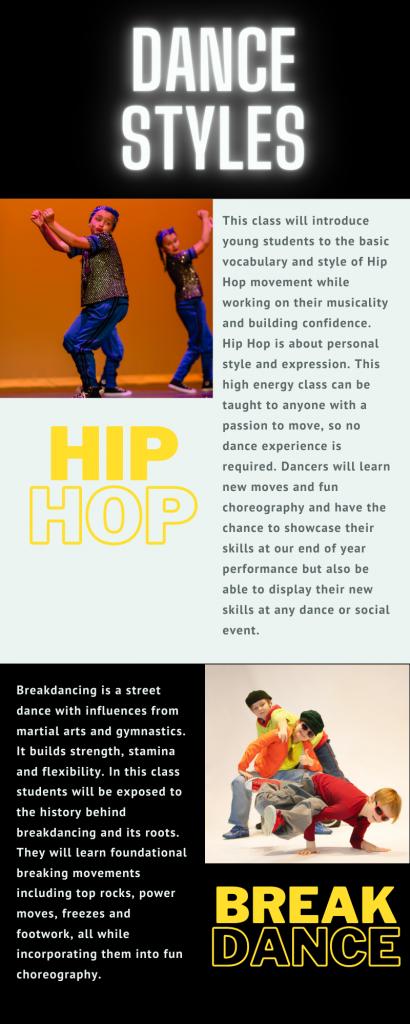 Kids Hip Hop & Breakdancing Classes